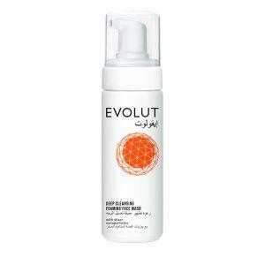 evolut cleansing foaming facewash