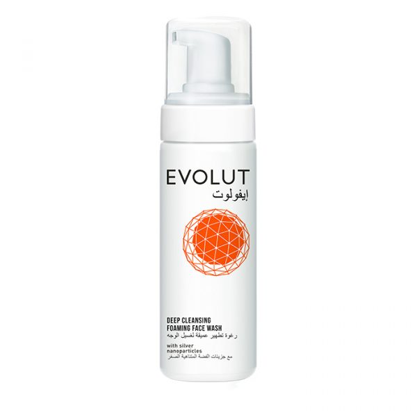 evolut cleansing foaming facewash