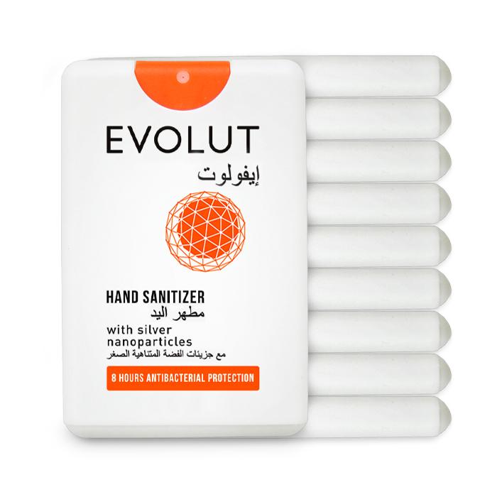 evolut hand sanitizer 10 nos