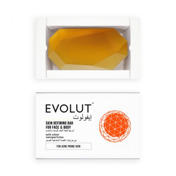 Evolut soap for skin